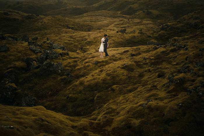 Picture Of breathtaking icelandic black church elopement  12