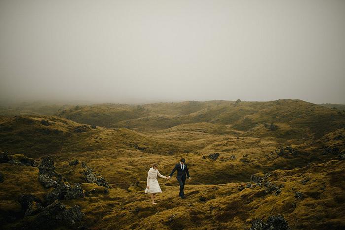 Picture Of breathtaking icelandic black church elopement  13