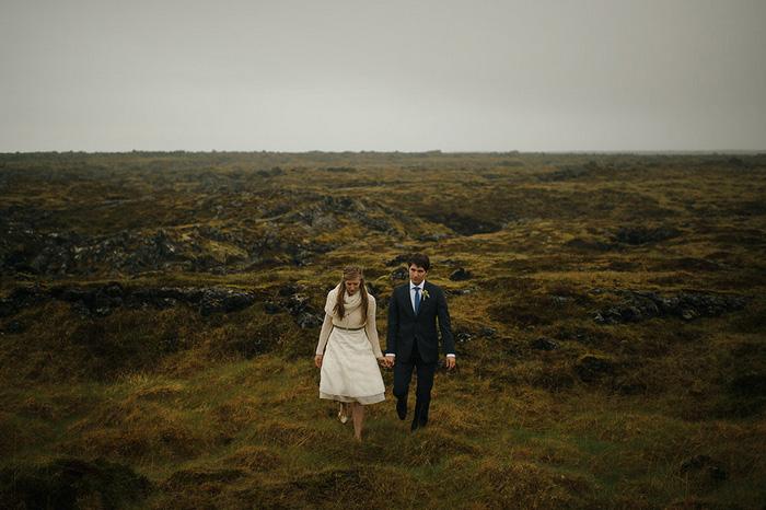 Picture Of breathtaking icelandic black church elopement  4