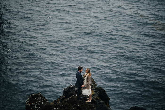 Picture Of breathtaking icelandic black church elopement  5