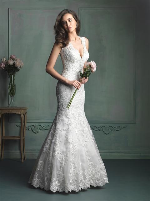 Allure Bridal spring 2014 collection (via allurebridals)