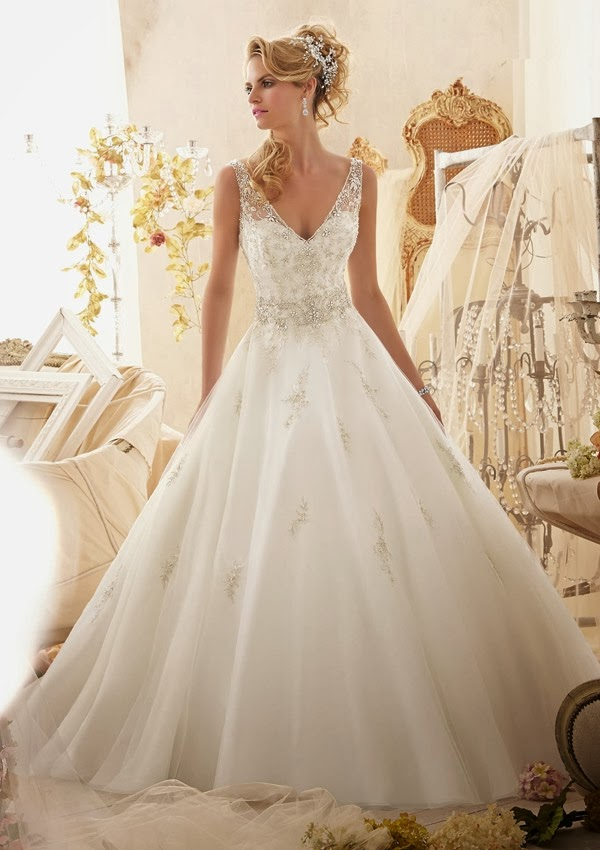 Breathtaking Mori Lee Spring 2014 Wedding Dresses Collection ...