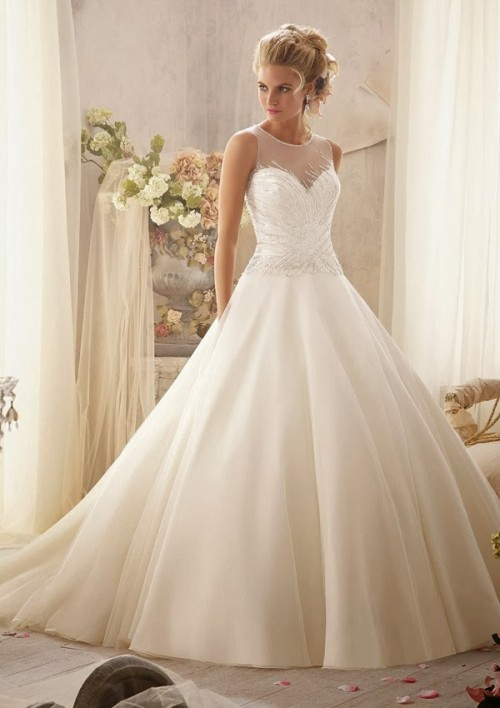 Breathtaking Mori Lee Spring 2014 Wedding Dresses Collection