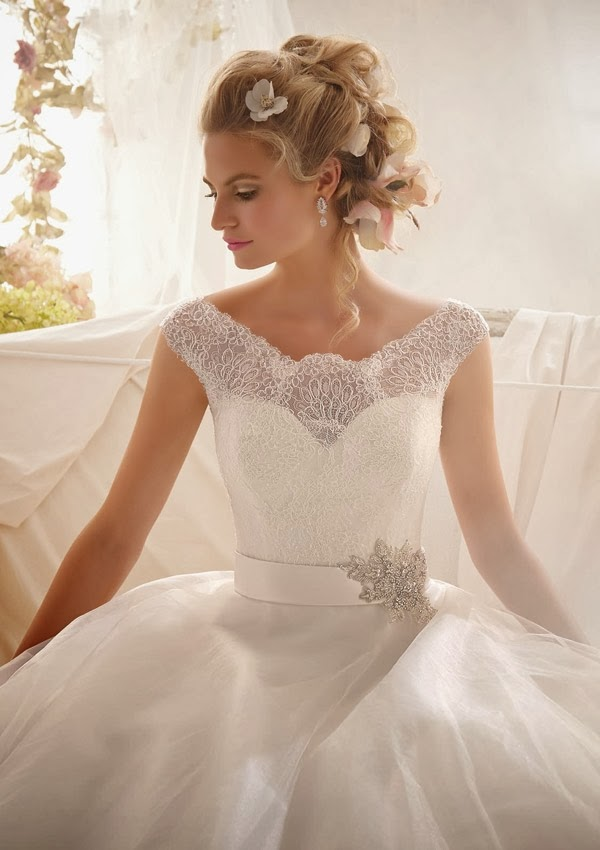 Breathtaking Mori Lee Spring 2014 Wedding Dresses Collection ...