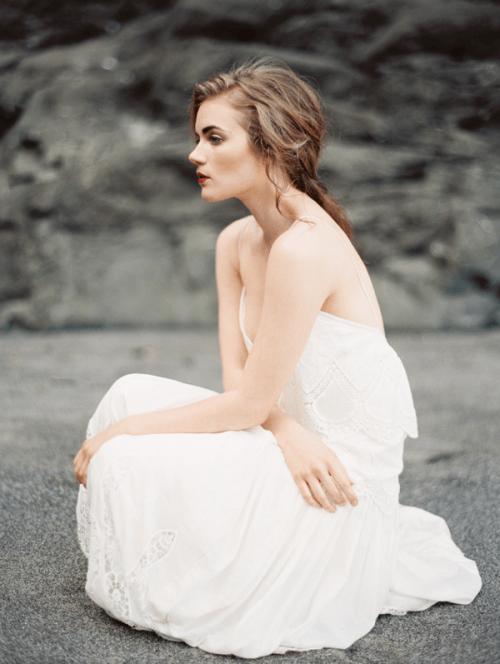 Breathtaking Natural Coastal Wedding Inspiration