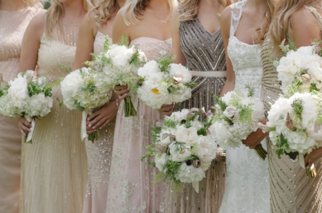 Picture Of breathtakingly gorgeous embellished bridesmaids dresses  1