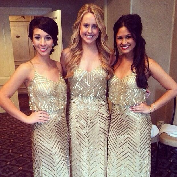 Picture Of breathtakingly gorgeous embellished bridesmaids dresses  20