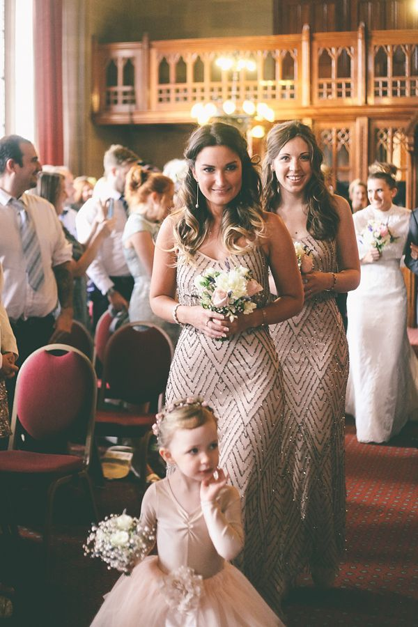 Picture Of breathtakingly gorgeous embellished bridesmaids dresses  21