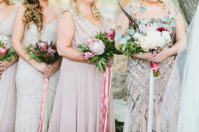 Picture Of breathtakingly gorgeous embellished bridesmaids dresses  7