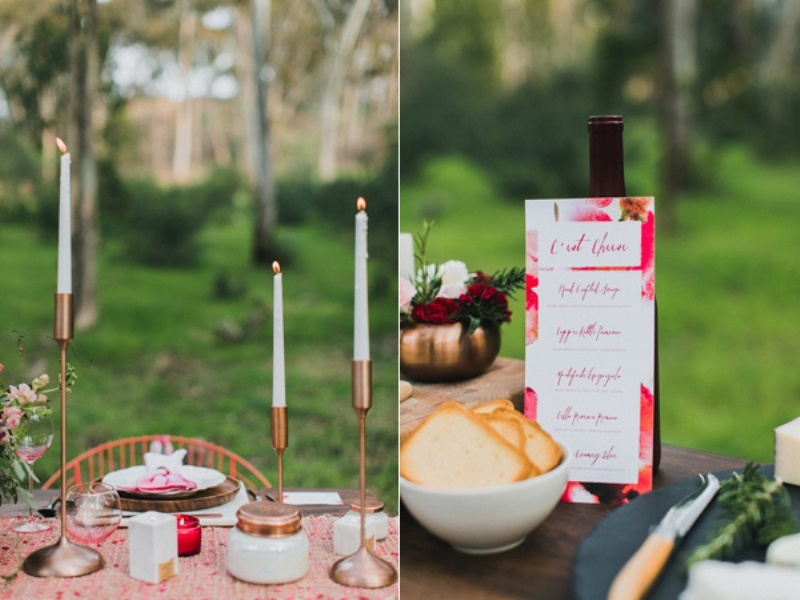 Picture Of bright and modern garden wedding inspiration  11
