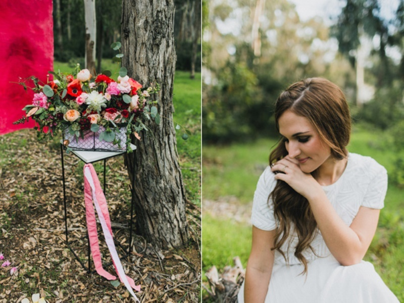 Picture Of bright and modern garden wedding inspiration  14