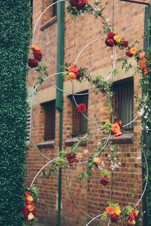 Bright And Modern Urban Wedding Inspiration