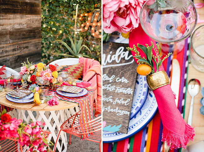 Picture Of bright cinco de mayo wedding inspirational shoot 6