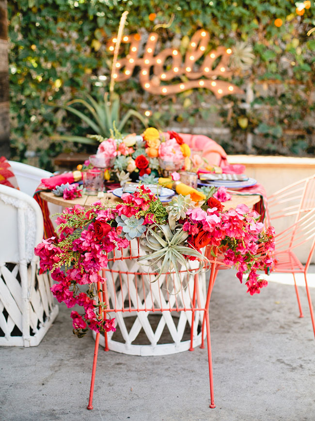 Picture Of bright cinco de mayo wedding inspirational shoot 9