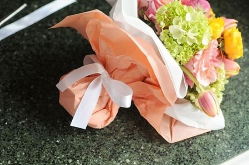 Bright DIY Wedding Floral Bouquet To Make