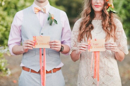 Bright Orange Crush Wedding Inspiration