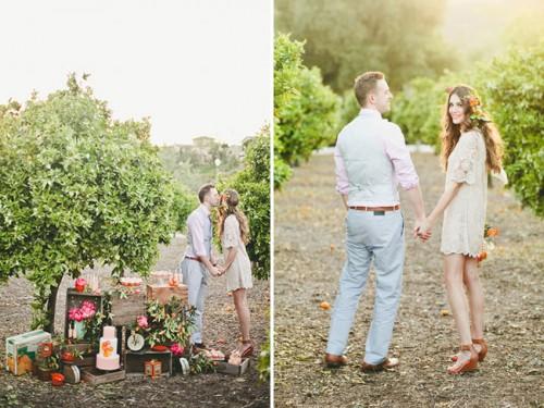 Bright Orange Crush Wedding Inspiration