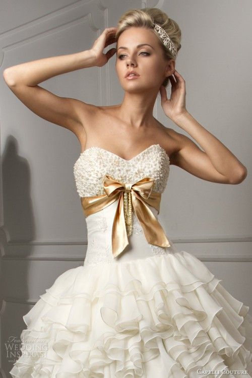 capelli couture 2013 wedding dresses russian