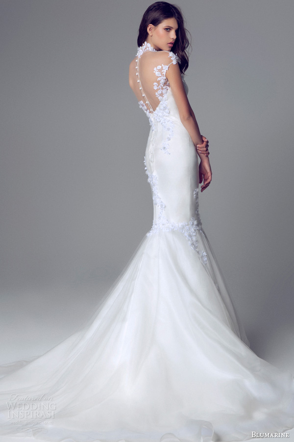 Picture of charming and elegant blumarine bridal 2014 wedding charming and elegant blumarine bridal 2014 wedding gowns collection junglespirit Image collections