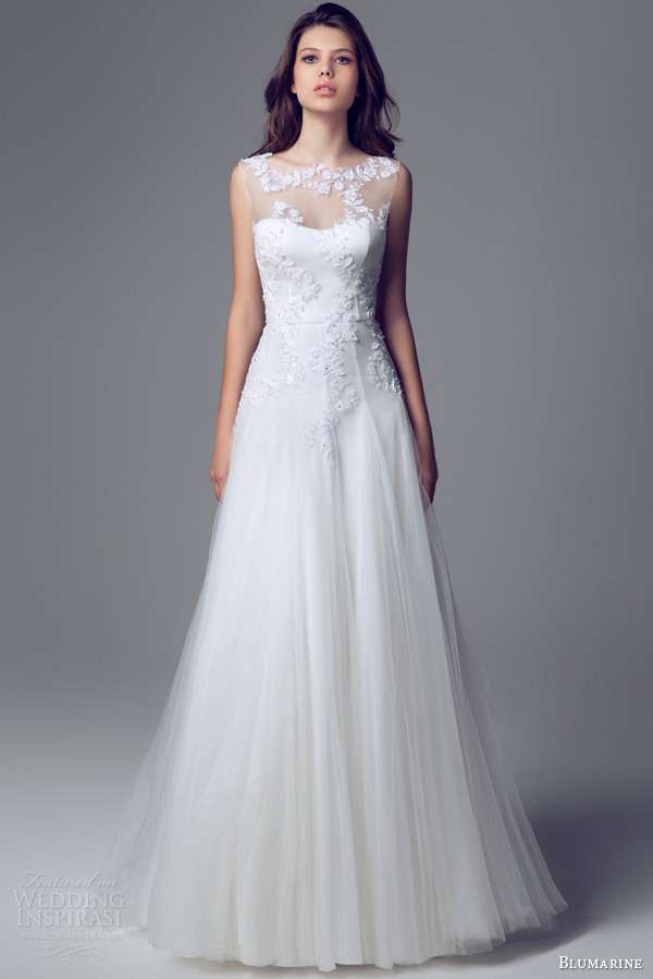 Bridal Gowns Elegant : Charming and elegant blumarine bridal wedding gowns