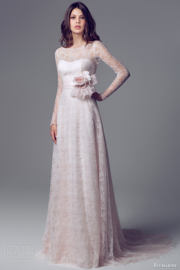 Charming And Elegant Blumarine Bridal 2014 Wedding Gowns Collection ...