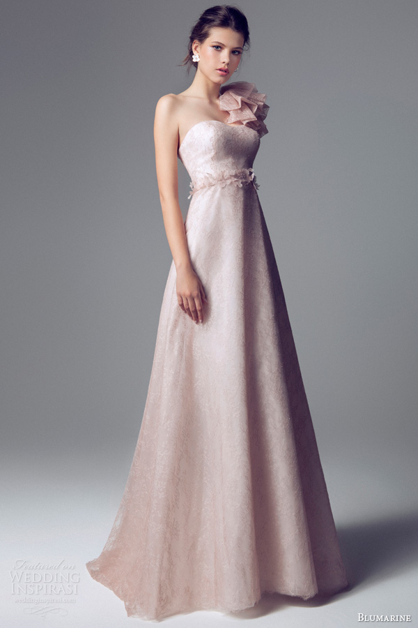 Charming And Elegant Blumarine Bridal 2014 Wedding Gowns ...