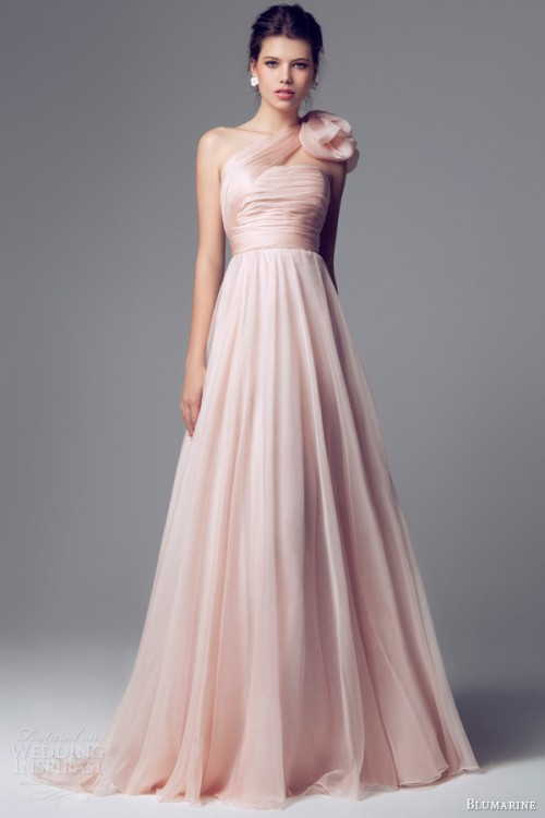Charming And Elegant Blumarine Bridal 2014 Wedding Gowns Collection