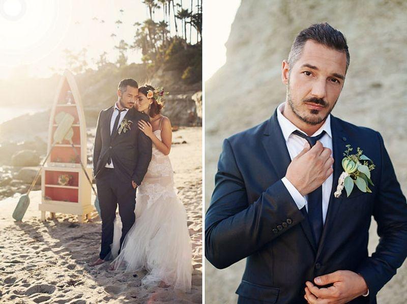 Charming Beachy Destination Wedding Inspiration
