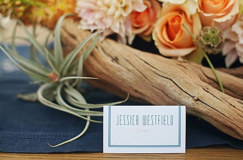 Charming Beachy Destination Wedding Inspiration
