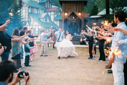 Charming Bible College Wedding With DIY Decorations