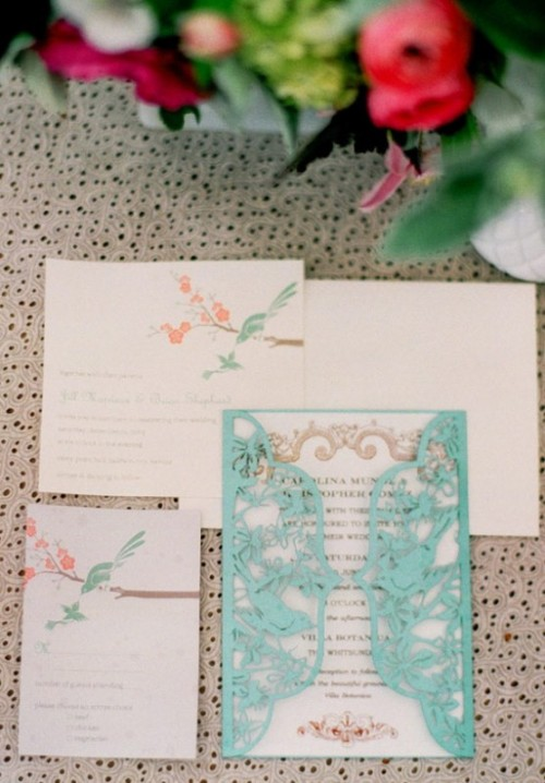 Charming Bird-Themed Wedding Inspiration