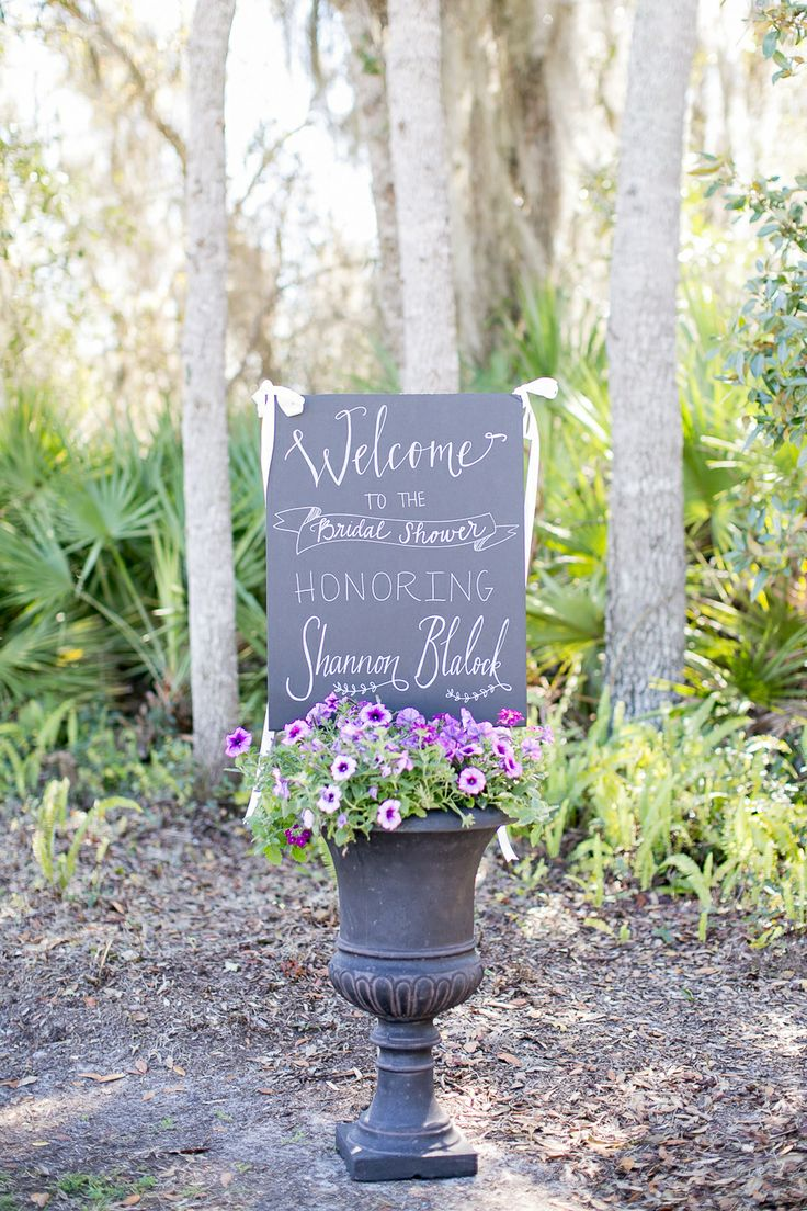 Picture Of Charming Garden Bridal Shower Ideas