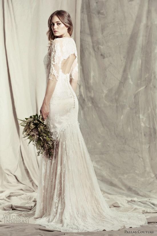 fed4a067a 41 Charming Keyhole Back Wedding Dresses - Weddingomania