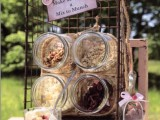 a granola bar is a cool spring bridal shower idea – your gals will appreciate your carign about their health