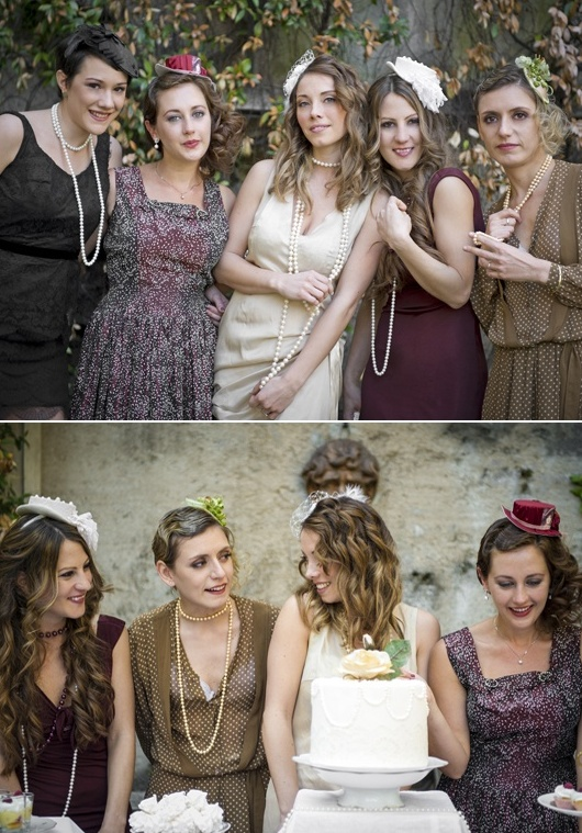 Charming Vintage Bridal Shower Ideas