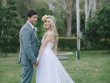 Charming Vintage Inspired Garden Queensland Wedding
