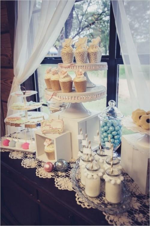 28 Charming Winter Bridal Shower Ideas Weddingomania