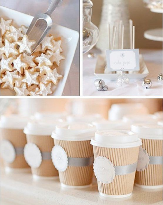 Charming Winter Bridal Shower Ideas
