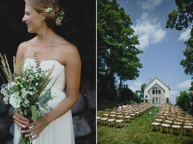 Charming Wisconsin Lake House Wedding
