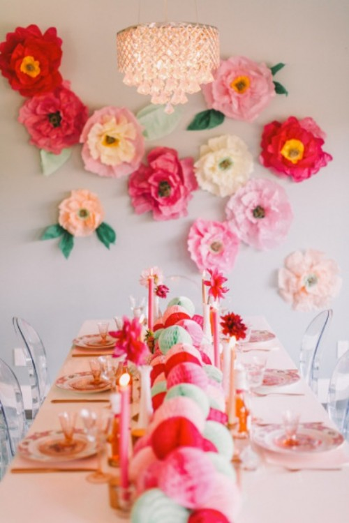 Cheerful And Lovely Bridesmaids' Party Inspiration