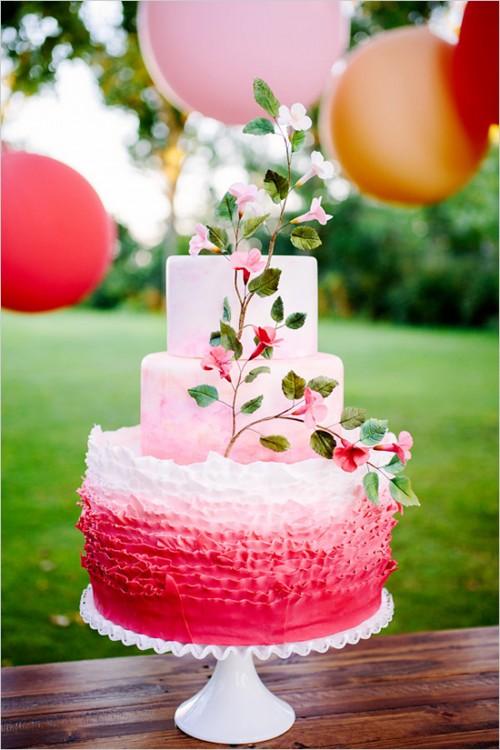 Cheerful And Romantic Pink Apple Inspired Wedding Shoot Weddingomania