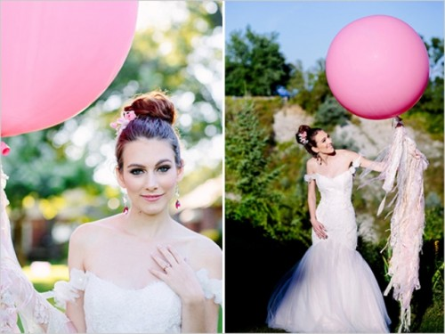 Cheerful And Romantic Pink Apple Inspired Wedding Shoot