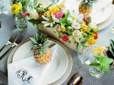 cheerful-kate-spade-inspired-wedding-shoot-with-pineapples-decor-12