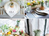 cheerful-kate-spade-inspired-wedding-shoot-with-pineapples-decor-13
