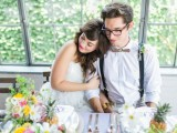 cheerful-kate-spade-inspired-wedding-shoot-with-pineapples-decor-14