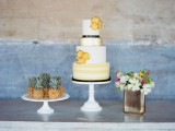 cheerful-kate-spade-inspired-wedding-shoot-with-pineapples-decor-17