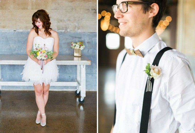 Picture Of cheerful kate spade inspired wedding shoot with pineapples decor  4