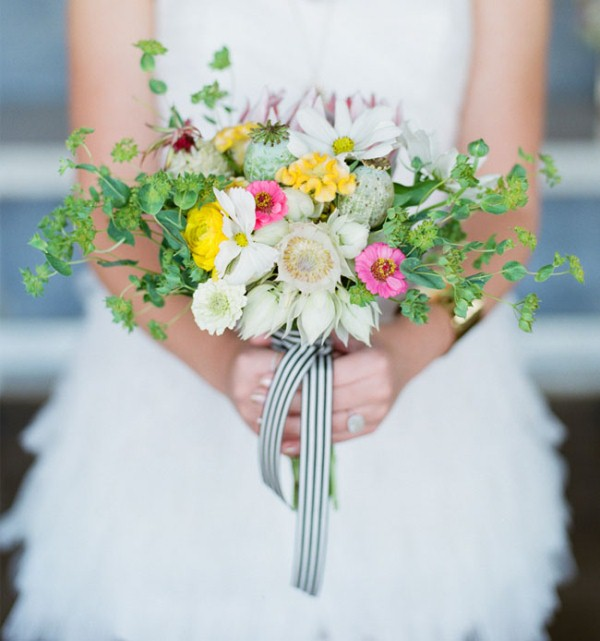 Picture Of cheerful kate spade inspired wedding shoot with pineapples decor  5