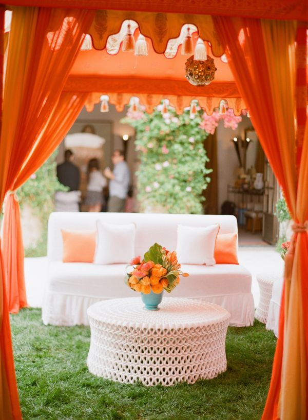 37 Cheerful Orange Beach Wedding Ideas Weddingomania