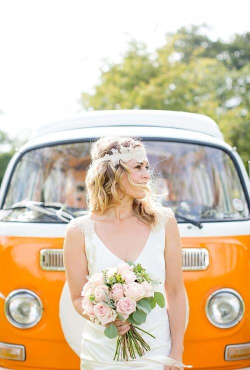 Cheerful Woodland Boho-Chic Wedding Shoot In Norfolk